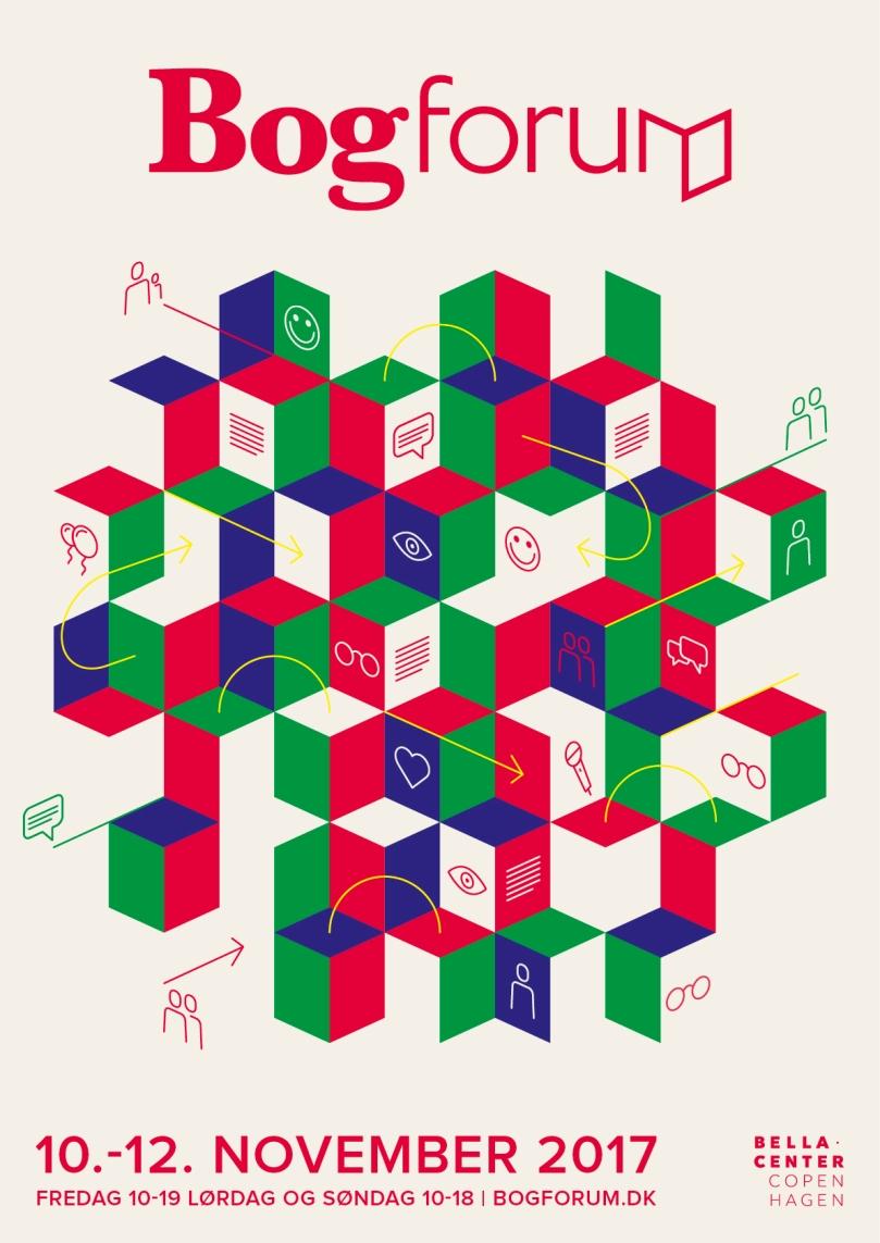 Bogforum 2017 plakat
