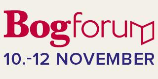 Bogforum logo med dato